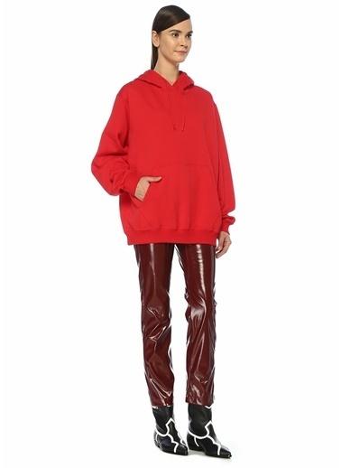 MSGM Sweatshirt Kırmızı
